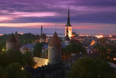 Skyline of Tallinn by Jon Hicks