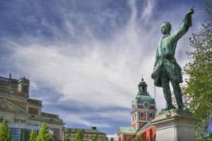Statue of Karl XII in Kungstradgarden by Jon Hicks