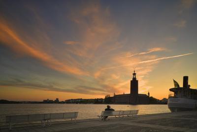 Stockholm Stadshuset at Sunset by Jon Hicks