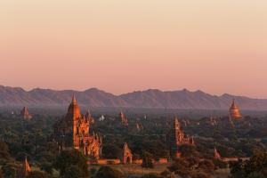 Sunset over Bagan by Jon Hicks