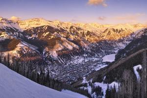 Telluride at Sunset by Jon Hicks