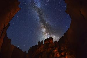 The Milky Way over Bryce Canyon. by Jon Hicks