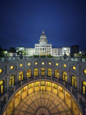 The Texas State Capitol Building in Austin, Texas.