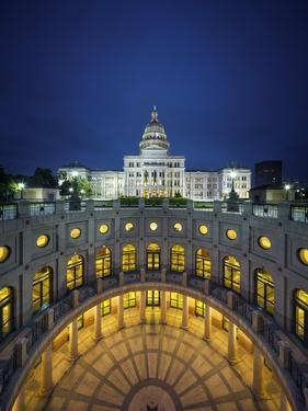 The Texas State Capitol Building in Austin, Texas. by Jon Hicks