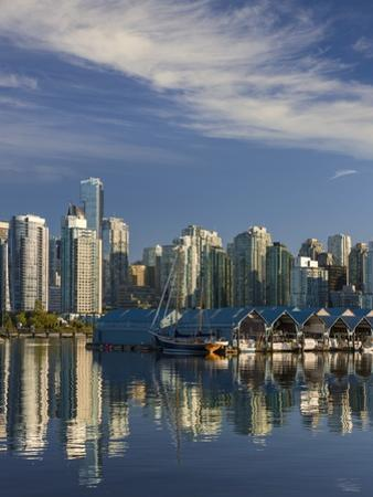 Vancouver Skyline. by Jon Hicks