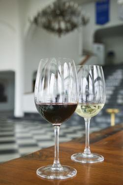 Wine Tasting Room at Vineyard by Jon Hicks