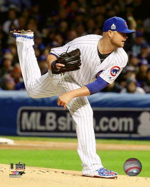Jon Lester Game 5 of the 2016 World Series