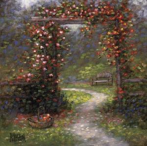 Rose Arbour I by Jon McNaughton