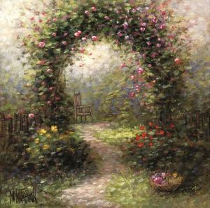 Rose Arbour II by Jon McNaughton