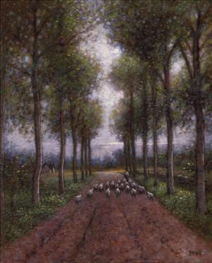 Shepherd's Lane by Jon McNaughton