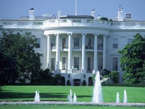 Exterior of White House, Washington, DC by Jon Riley