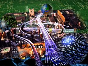 Information Superhighway by Jon Riley