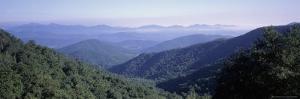 Mountain Vista from Blue Ridge Parkway, NC by Jon Riley