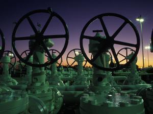 Natural Gas, Storage Tanks by Jon Riley