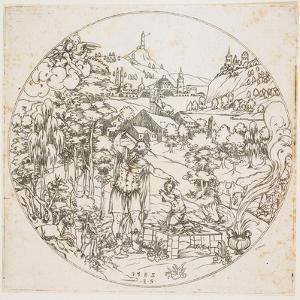 Abraham's Sacrifice, 1585 by Jonas Silber