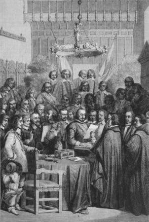 The Peace Treaty of Westphalia the Treaty Signed at Munster Which Ended the Thirty Years War