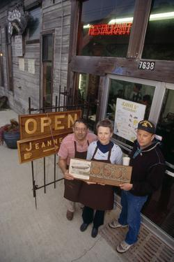 Relic of U.S.S. Macon Is Shown by Vincent and Jeanne Balestreri, Moss Landing by Jonathan Blair