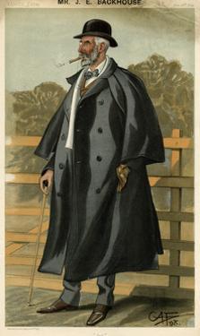Jonathan Edward Backhouse, Vanity Fair