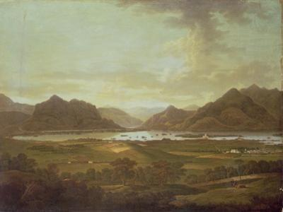 View of the Lakes and Mountains of Killarney, Ireland