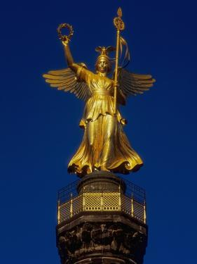 Detail of the Victory Column Statue by Friedrich Darke by Jonathan Hicks