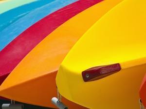 Kayaks for Rent by Jonathan Hicks