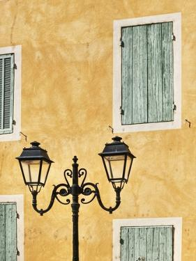 Street Light and Typical Provencal Architecture in Orange by Jonathan Hicks