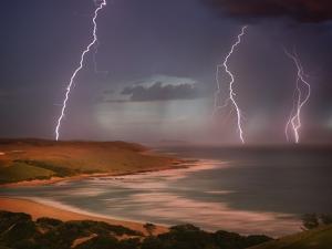 Thunderstorm Over Mdumbi Estuary by Jonathan Hicks