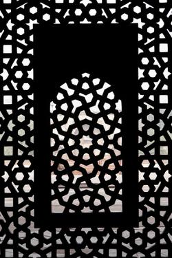 A Screened Window at the Tomb of the Mughal Emperor Humayun by Jonathan Irish