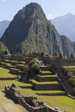 Machu Picchu Is the Site of an Ancient Inca City, at 8,000 Feet by Jonathan Irish