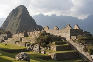 Machu Picchu, the Lost City of the Incas and Huayna Picchu Peak by Jonathan Irish