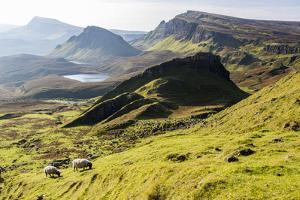 The Quiraing Walk on the Isle of Skye in Scotland by Jonathan Irish