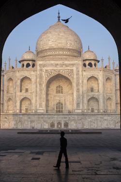 The Taj Mahal, a Mausoleum Built in Memory of Shah Jahan's Third Wife by Jonathan Irish