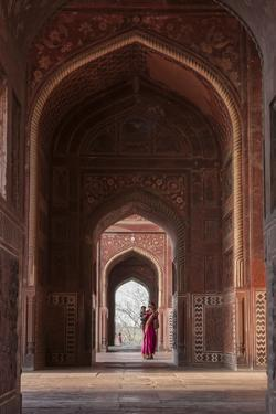 The Taj Mahal, a Mausoleum Built in Memory of Shah Jahan's Third Wife by Jonathan Irish
