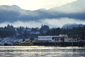 A Scenic View of Prince Rupert's Waterfront Community, at Sunrise by Jonathan Kingston