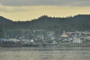 A Scenic View of the Seaside Town of Bella Bella by Jonathan Kingston