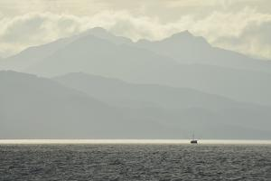 A Small Commercial Fishing Boat in the Waters Off of Catherine Island by Jonathan Kingston