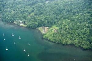 Aerial View of Fort San Fernando, Portobelo, Panama by Jonathan Kingston