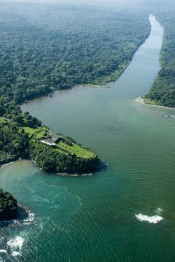 Aerial View of Fort San Lorenzo, Colon, Panama by Jonathan Kingston