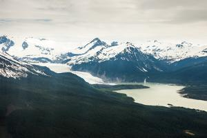 An Aerial View of the Mendenhall Glacier by Jonathan Kingston