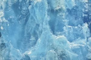 Close-Up of the Deep Blue Ice Face of the Dawes Glacier by Jonathan Kingston