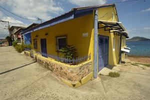 Colorful Houses on Taboga Island by Jonathan Kingston