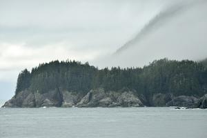 Fog Lifts over the Rocky Shores of the Inian Islands by Jonathan Kingston