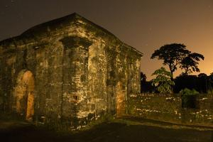 Fort San Lorenzo Under a Starry Night Sky in Panama by Jonathan Kingston