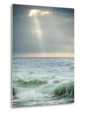 God-Rays Break Through the Clouds over the Pacific on the West Shore of Molokai, Hawaii by Jonathan Kingston