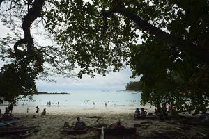 Half Moon Beach, in Manuel Antonio National Park, Costa Rica by Jonathan Kingston