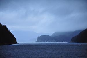 Low Clouds Hang Above the Rocky Landscape Near Port Althorp, Alaska by Jonathan Kingston