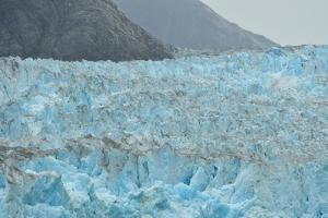 Seracs Line the Top of the Dawes Glacier by Jonathan Kingston