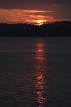 Sunrise from the Anchorage of Barro Colorado Island by Jonathan Kingston