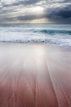 Sunset over Papohaku Beach, One of the Longest Beaches in the Hawaiian Islands, Molokai, Hawaii by Jonathan Kingston