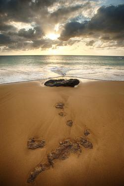 Sunset over Papohaku Beach, One of the Longest Beaches in the Hawaiian Islands by Jonathan Kingston